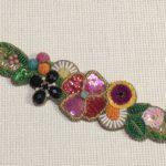 ビーズ刺繍 ブレスレット
